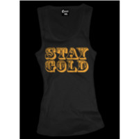 Stay Gold Beater - Tanks - Women's Online Store