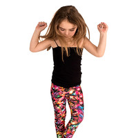 Kids Multi Holiday Lights Leggings