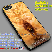 Lion King Quote iPhone 6s 6 6s+ 6plus Cases Samsung Galaxy s5 s6 Edge+ NOTE 5 4 3 #cartoon #disney #animated #theLionKing dl5