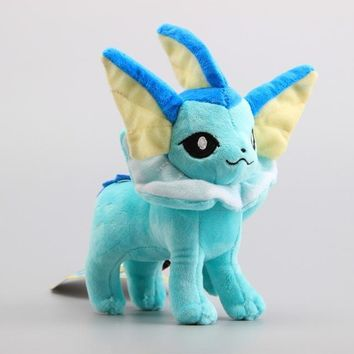 "8"" Vaporeon Pokemon Plush"