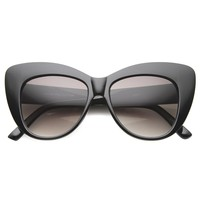 Womens Butterfly Sunglasses With UV400 Protected Composite Lens