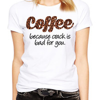 Funny Tshirt - Coffee Beans - Coffee Lover Gift - Coffee Shirt - Funny T Shirt - Funny Shirt - I Love Coffee - Graphic Tee - Funny Gift