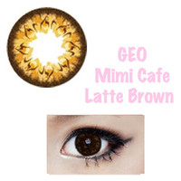 GEO Lens - Mimi Cafe Latte Brown