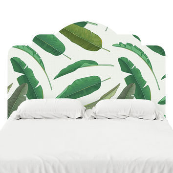 Banana Leaf Headboard Decal