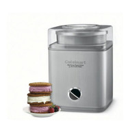 Automatic Yogurt Sorbet Ice Cream Maker 2 Quarts Heavy-Duty Stainless Steel New