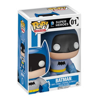 Blue Rainbow Batman 75th Anniversary POP! Heroes #01 Exclusive Vinyl Figure