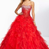 Mori Lee 95115 Prom Dress - PromDressShop.com