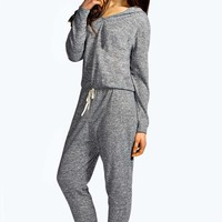 Livia Hooded Lounge Jumpsuit