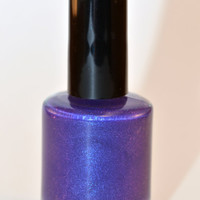 Drama Bomb: an ultra rich purple polish by Digital Nails