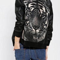 DV By Dolce Vita Tame Tiger Bomber Jacket