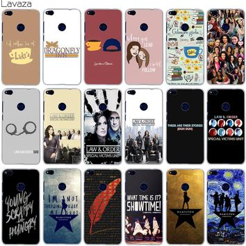 Lavaza Gilmore Girls Law & Order Special Victims Unit Hamilton Case for Huawei Mate 10 P8 P9 P10 Lite Pro Mini 2017