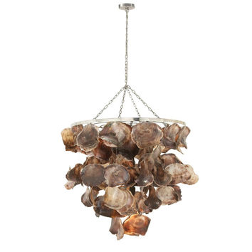 Artistic Shell Metal Chandelier