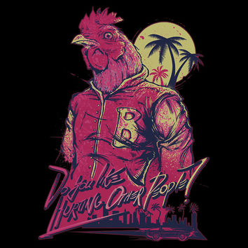 Hotline Miami - Do You Like Hurting Other People? T-Shirts & Hoodies