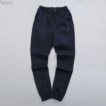 KUYOU N371 Nike is still bursting with cotton and casual pants Dark Blue