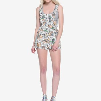 Her Universe Marvel The Avengers Comic Shortalls