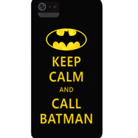 keep calm and call batman - the iPhone case