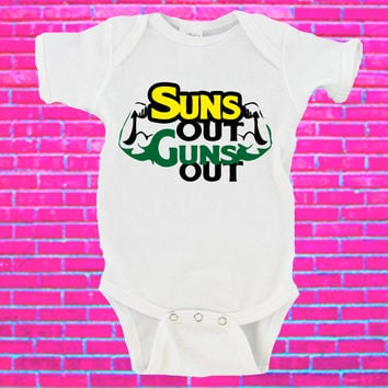 Suns Out Guns Out Gerber Onesuit ®