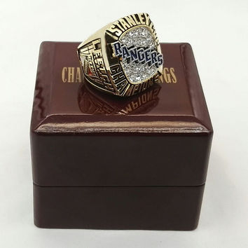 Factory price Drop shipping NHL 1994  York Rangers ice hockey Stanley Cup Championship Ring  Wi