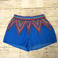 Chevron ethnic shorts from PeaceLove&Jewels