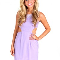 One Sweet Day Lavender Peep Side Dress | Monday Dress Boutique
