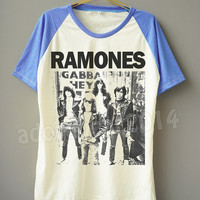 RAMONES T-Shirt American Punk Rock T-Shirt Band T-Shirt Short Sleeve Tee Shirt Short Baseball Shirt Unisex T-Shirt Women T-Shirt Men T-Shirt
