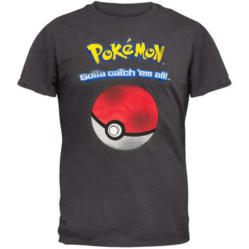 Pokemon - Catch 'Em All Adult T-Shirt