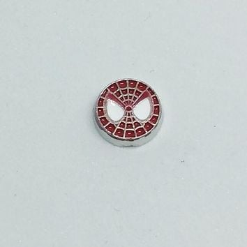 Spiderman Floating Charm