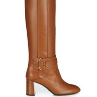 Gomma leather knee-high boots   Tod's   MATCHESFASHION.COM US