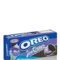 OREO Chocolate Sandwich Cookies with Blueberry Ice Cream Flavor Net 9.66 Ounces