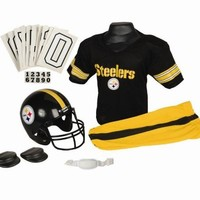 Pittsburgh Steelers Football Deluxe Uniform Set - Size Small