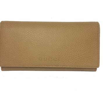 Gucci Beige Leather Continental Flap Wallet for Women 346058
