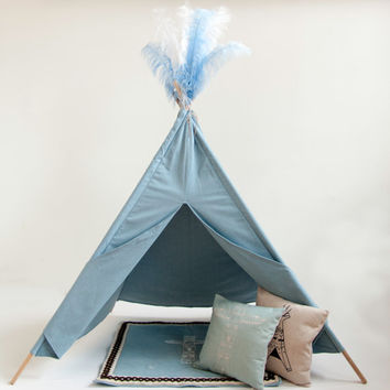 Denim Teepee/Tipi For Kids