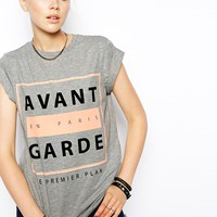 ASOS T-Shirt with Avant Garde Print