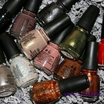 China Glaze Hunger Games 2012 Collection whole set 12 bottle