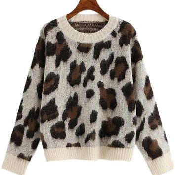 Fuzzy Leo Sweater