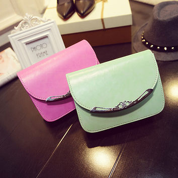 Ladies One Shoulder Sweets 10-color Crown Stylish Bags [6583111943]