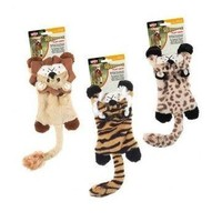 Ethical Products Plush Skinneeez Flat Cats Dog Toys 12""