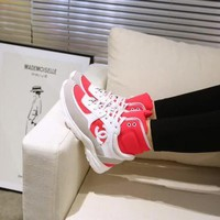 New Fashion Double C High Top Sneaker Reference #1170 - Beauty Ticks