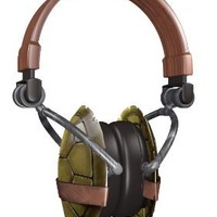 Nickelodeon 11765-MIC Teenage Mutant Ninja Turtles Shell Headphones
