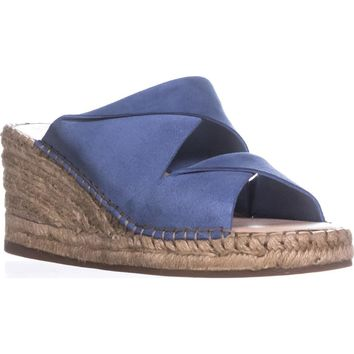 Kelsi Dagger Brooklyn Inwood Espadrille Wedge Sandals, Denim, 8 US / 38 EU