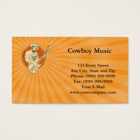 Cowboy Music Business card