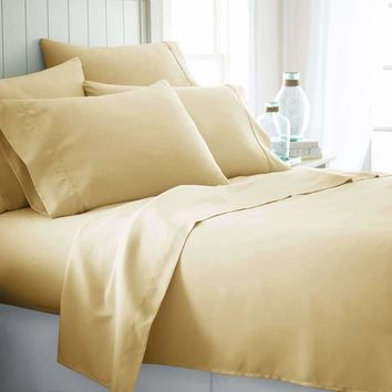 Home Collection™ Luxury Ultra Soft 6 Piece Bed Sheet Set