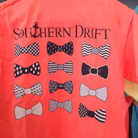 Southern Drift Comfort Color  Short sleeve Bow
