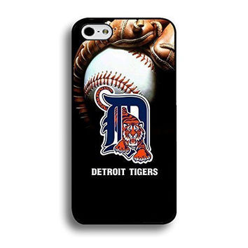 Case Cover For Ipod Touch 5 Inch) Case Abstract Design MLB Detroit Tigers Baseball Team Logo Sports Unique Design Personalized Printed Hard Hard Plastic Protection Phone Accessories Case Cover for Men