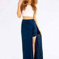 In and Out Maxi Skirt $30