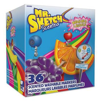 Mr. Sketch® Scented Washable Markers - Classroom Pack
