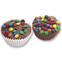 M&M's Candy Giant Milk Chocolate Cups: 24-Piece Box