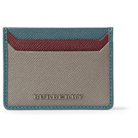 Burberry Shoes & AccessoriesCross-Grain Leather Card Holder|MR PORTER