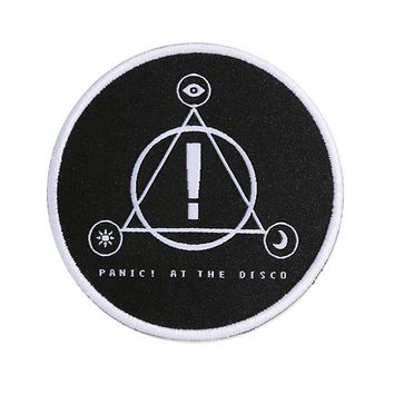 Panic! At The Disco L.A. Devotee Iron-On Patch