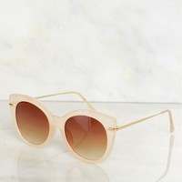 Classic Sunglasses Translucent Tan